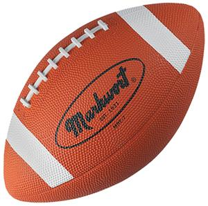 Markwort Rubber Official Size/Intermed Footballs