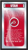 Holland University of Utah Fight Song Mirror