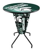 Holland Michigan State Univ Lighted Pub Tables