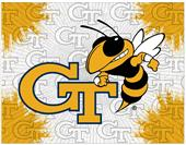 Holland Georgia Tech Logo Printed Canvas Art