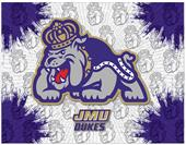 Holland James Madison Univ Logo Printed Canvas Art