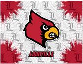 Holland Univ of Louisville Logo Printed Canvas Art