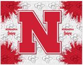 Holland Univ of Nebraska Logo Printed Canvas Art