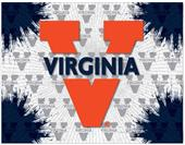 Holland Univ of Virginia Logo Printed Canvas Art