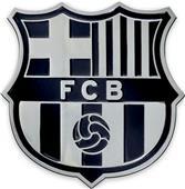Fan Mats MLS FC Barcelona Chrome Emblem
