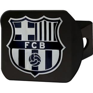 Fan Mats MLS FC Barcelona Black Hitch Cover