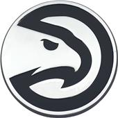 Fan Mats NBA Atlanta Hawks Chrome Emblem