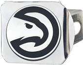 Fan Mats NBA Atlanta Hawks Chrome Hitch Cover