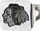 Fan Mats NHL Chicago Blackhawks Chrome Hitch Cover