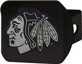 Fan Mats NHL Chicago Blackhawks Black Hitch Cover