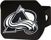 Fan Mats NHL Colorado Avalanche Black Hitch Cover