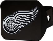 Fan Mats NHL Detroit Red Wings Black Hitch Cover