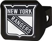 Fan Mats NHL New York Rangers Black Hitch Cover