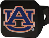 Fan Mats NCAA Auburn Black/Color Hitch Cover