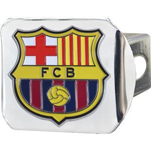 Fan Mats MLS FC Barcelona Chrome/Color Hitch Cover