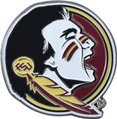 Fan Mats NCAA Florida State Colored Vehicle Emblem