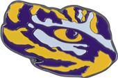 Fan Mats NCAA LSU Colored Vehicle Emblem