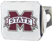 Fan Mats Mississippi St. Chrome/Color Hitch Cover