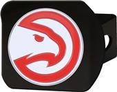 Fan Mats NBA Atlanta Hawks Black/Color Hitch Cover