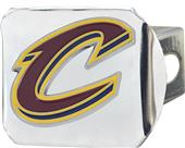 Fan Mats NBA Cleveland Chrome/Color Hitch Cover