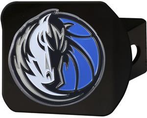 Fan Mats NBA Dallas Black/Color Hitch Cover