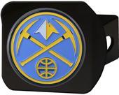 Fan Mat NBA Denver Nuggets Black/Color Hitch Cover