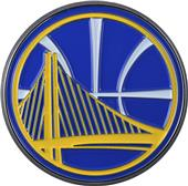Fan Mats NBA Golden State Colored Vehicle Emblem
