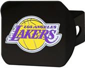 Fan Mats NBA LA Lakers Black/Color Hitch Cover