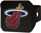 Fan Mats NBA Miami Heat Black/Color Hitch Cover