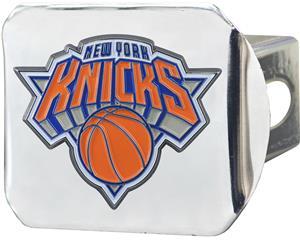 Fan Mats NBA NY Knicks Chrome/Color Hitch Cover
