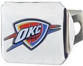 Fan Mats NBA OKC Thunder Chrome/Color Hitch Cover