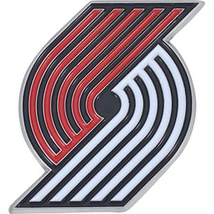 Fan Mats NBA Portland Colored Vehicle Emblem