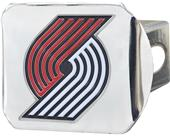 Fan Mats NBA Portland Chrome/Color Hitch Cover