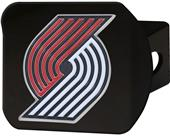 Fan Mats NBA Portland Black/Color Hitch Cover