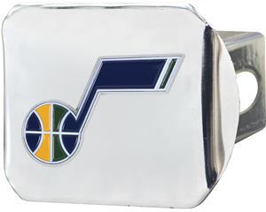 Fan Mats NBA Utah Jazz Chrome/Color Hitch Cover
