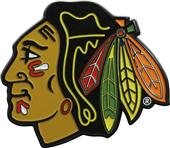 Fan Mats NHL Chicago Colored Vehicle Emblem