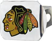 Fan Mats NHL Chicago Chrome/Color Hitch Cover