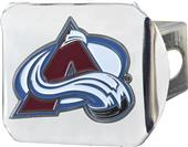 Fan Mats NHL Colorado Chrome/Color Hitch Cover