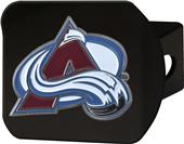 Fan Mats NHL Colorado Black/Color Hitch Cover