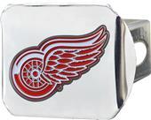 Fan Mats NHL Detroit Chrome/Color Hitch Cover