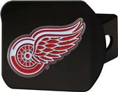 Fan Mats NHL Detroit Black/Color Hitch Cover