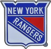 Fan Mats NHL NY Rangers Colored Vehicle Emblem