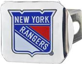 Fan Mats NHL NY Rangers Chrome/Color Hitch Cover
