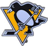 Fan Mats NHL Pittsburgh Colored Vehicle Emblem