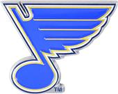 Fan Mat NHL St. Louis Blues Colored Vehicle Emblem
