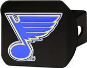Fan Mats NHL St. Louis Black/Color Hitch Cover