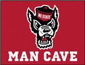 Fan Mats NCAA NC State Man Cave All-Star Mat