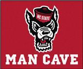 Fan Mats NCAA NC State Man Cave Tailgater Mat