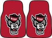 Fan Mats NCAA NC State Carpet Car Mat (set)