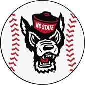 Fan Mats NCAA NC State Baseball Mat